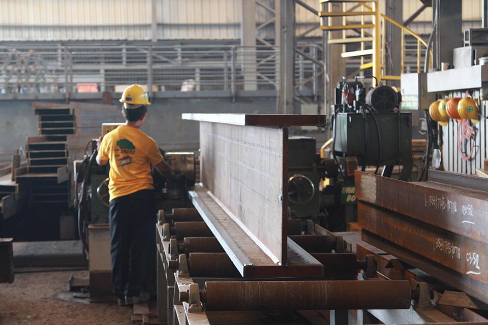 Built-up Steel Beams   Steel Centre Philippines Inc